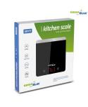 Waga kuchenna cyfrowa LED czarna GreenBlue GB171 min 1g max 5000g