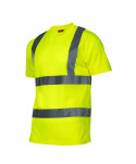"""Koszulka t-shirt ostrzegawcza, żółta, """"xl"""", ce, lahti"""