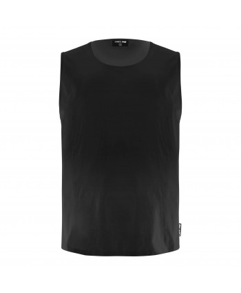"Koszulka bez rękawów 160g/m2, czarna, ""s"", ce, lahti"