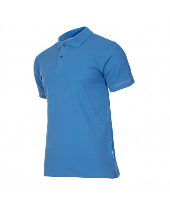 """Koszulka polo, 220g/m2, niebieska, """"xl"""", ce, lahti"""