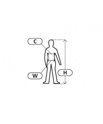 LPQC76M Quest Ubrania robocze - bluza i ogrodniczki, H:176, C:92-96, W:82-86, M