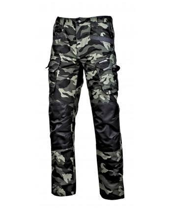 """Spodnie bojówki moro zielone ze wzmocnieniami,""""3xl"""",ce,lahti"""