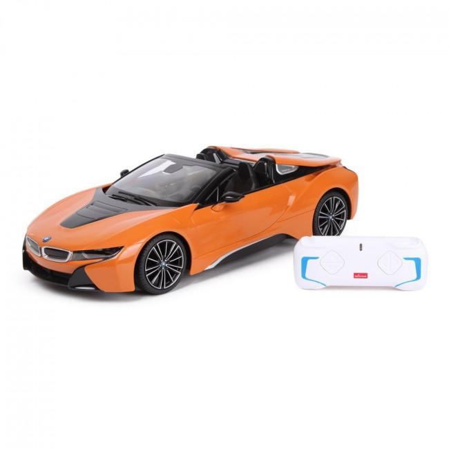 Auto R/C BMW i8 Roadster Rastar 1:12 Pomarańczowy