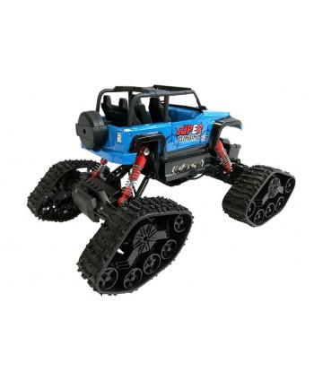 Jeep Zdalnie Sterowany Terenowy R/C Niebieski 4x4