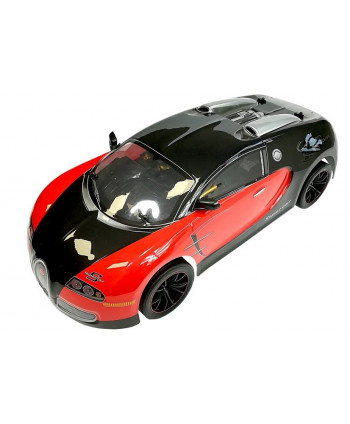 Auto Zdalnie Sterowane Sportowe 2.4GHz Czarne