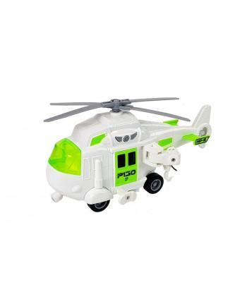 Auto Transporter na Baterie 1:16 z Helikopterem