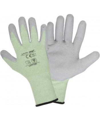 "Rękawice ociep. ziel.-szare l251709p, karta, ""9"", ce, lahti"