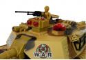 Duży Czołg Zdalnie Sterowany R/C 2.4 Ghz Światła Odgłosy Strzelania Żółty