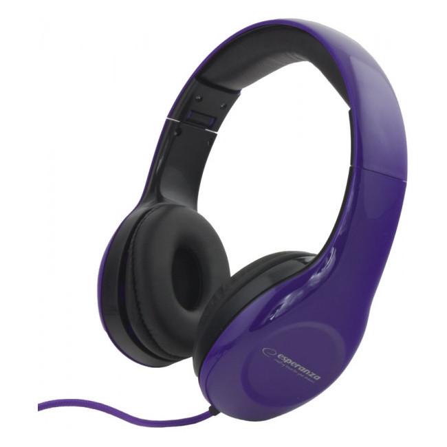 EH138V Słuchawki Audio Soul fioletowe Esperanza