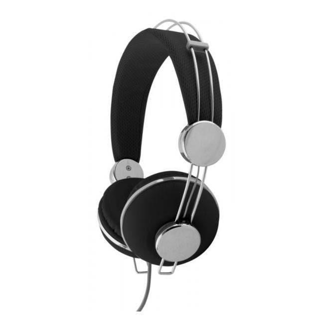 EH149K Słuchawki Audio Macau czarne Esperanza