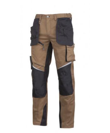 """Spodnie brązowo-czarne, """"2xl"""", ce, lahti"""