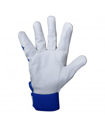 "Rękawice ze skóry koziej nieb. p270211p, karta, ""11"", ce,psb"