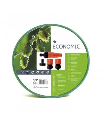 """Zestaw ogrodowy 20m 3/4"""" z końcówkami Cellfast Economic"""