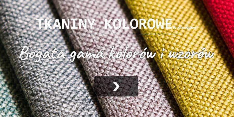 Tkaniny kolorowe